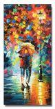 Schilderij wandeling modern 40 x 80 Artello