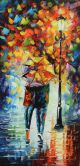 Schilderij wandeling modern 50 x 100 Artello